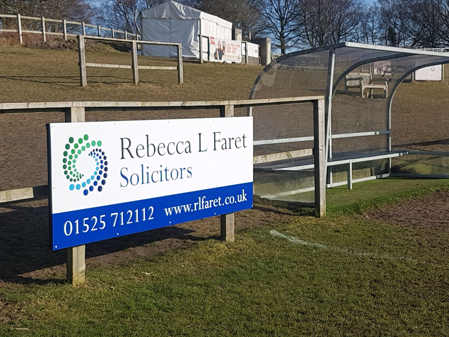 rebecca l faret solicitors - ampthill rugby club sponsorship